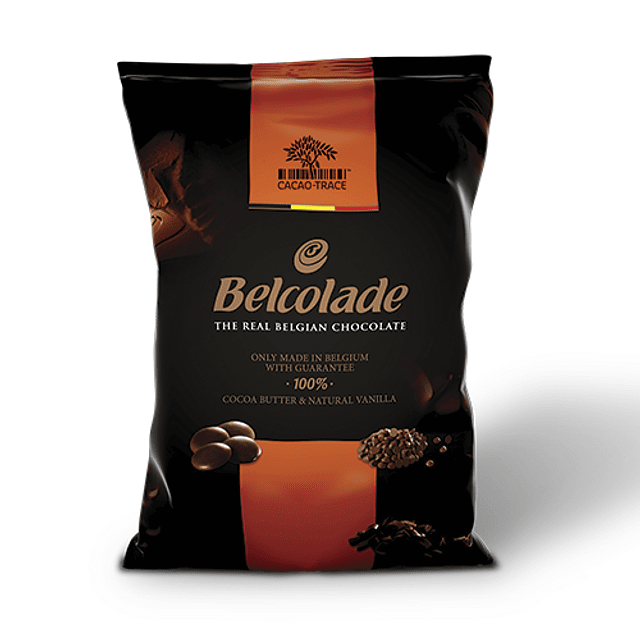 Chocolate Belcolade Leche 35% Cacao 1 Kg.