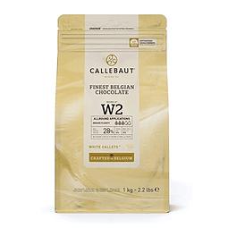Chocolate Callebaut Blanco W2 - 28% Cacao 1 Kg.