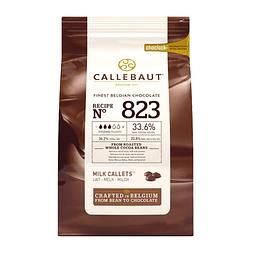 Chocolate Callebaut Leche 823 - 33,6% Cacao 1 Kg.