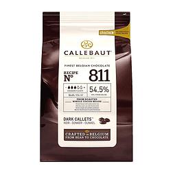 Chocolate Callebaut Negro 811 - 54,5% Cacao 1 Kg.