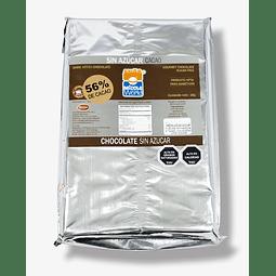 Chocono Sin Azúcar 56% Cacao 1 kg.