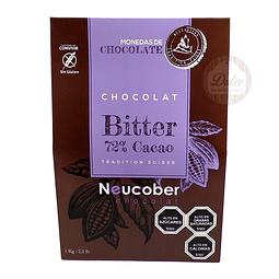 Bitter 72% Cacao Neucober 1 kg.
