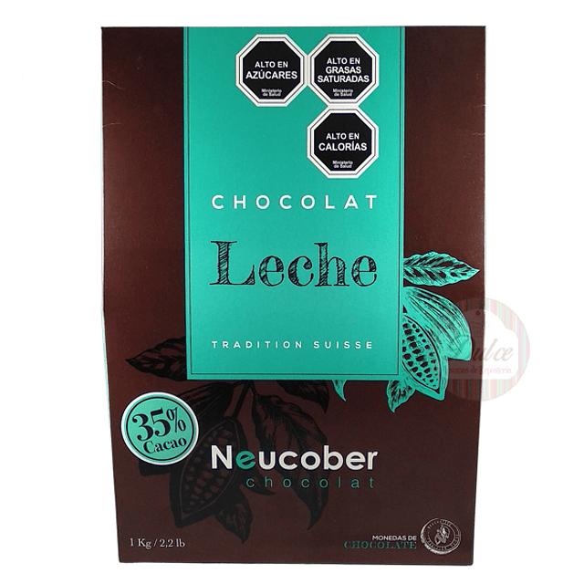 Leche 35% Cacao Neucober 1 kg.