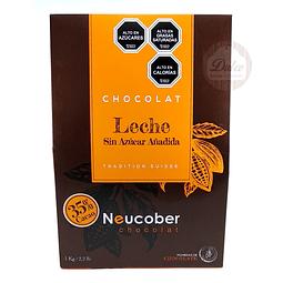 Leche 35% Cacao Sin Azúcar Neucober 1 kg.