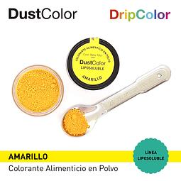 Colorante Liposoluble DripColor DustColor Amarillo
