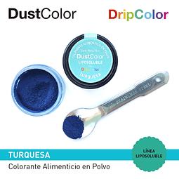Colorante Liposoluble DripColor DustColor Turquesa