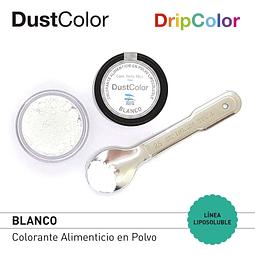Colorante Liposoluble DripColor DustColor Blanco