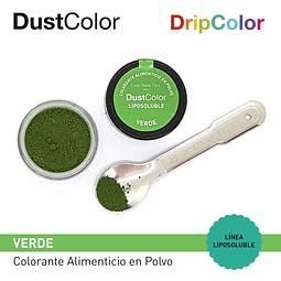 Colorante Liposoluble DripColor DustColor Verde