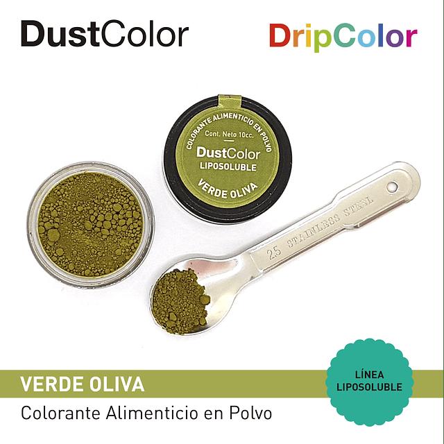 Colorante Liposoluble Verde Oliva DripColor DustColor
