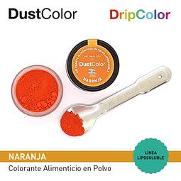 Colorante Liposoluble Naranja DripColor DustColor