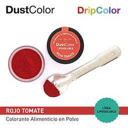 Colorante Liposoluble DripColor DustColor Rojo Tomate