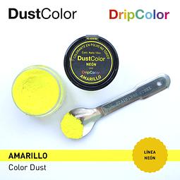 Colorante Polvo DustColor Neón Amarillo 10 cc.