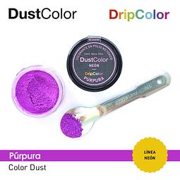 Colorante Polvo Púrpura Neón DustColor 10 cc.