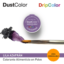 DustColor Hidrosoluble Lila Azafrán 10cc. DripColor