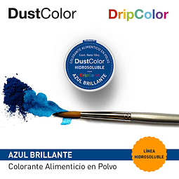 DustColor Hidrosoluble Azul Brillante 10cc. DripColor