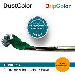 DustColor Hidrosoluble Turquesa 10cc. DripColor