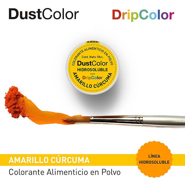 DustColor Hidrosoluble Amarillo Cúrcuma 10cc. DripColor