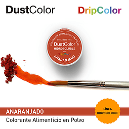 DustColor Hidrosoluble 10cc. Drip Color Anaranjado