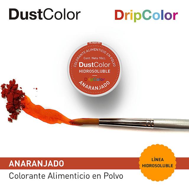 DustColor Hidrosoluble Anaranjado 10cc. Drip Color