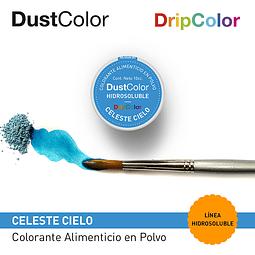 DustColor Hidrosoluble 10cc. DripColor Celeste Cielo