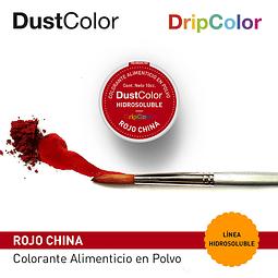 DustColor Hidrosoluble 10cc. DripColor Rojo China