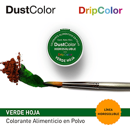 DustColor Hidrosoluble Verde Hoja 10cc. DripColor