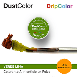 DustColor Hidrosoluble Verde Lima 10cc. DripColor