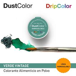 DustColor Hidrosoluble Verde Vintage 10cc. DripColor