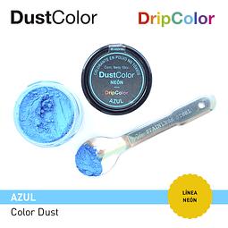 Colorante Polvo DustColor Neón Azul 10 cc.