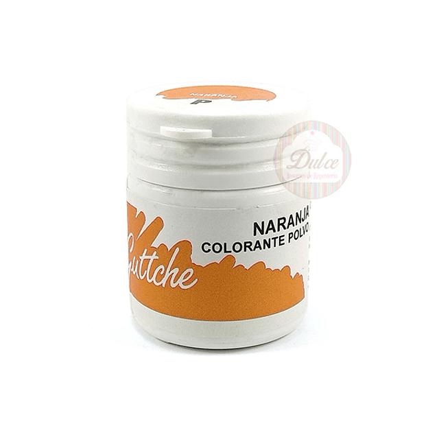 Colorante Polvo Naranjo Guttche 15 gr.