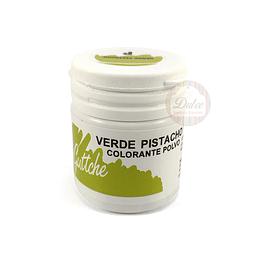 Colorante Polvo Guttche Verde Pistacho 15 gr.