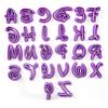 Cortadores Letras Disney 26 Piezas