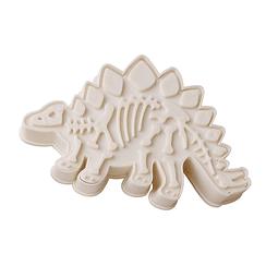 Cortador Marcador Fósil Stegosaurus Plástico