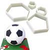 Set Cortadores Pelota de Fútbol 4 Piezas