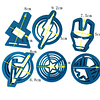 Set Cortador Avengers 6 Piezas