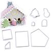 Set Cortadores Plásticos Casa Jengibre 8 Piezas