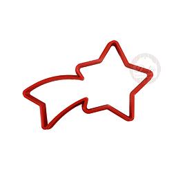 Cortador Plástico Estrella Fugaz