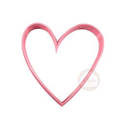 Cortador Plástico Corazón N°6
