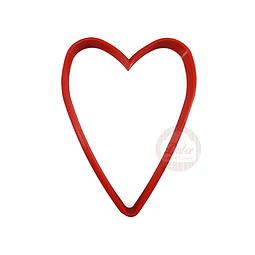Cortador Plástico Corazón N°2