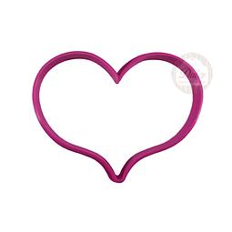 Cortador Plástico Corazón N°1