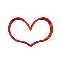 Cortador Plástico Corazón N°4