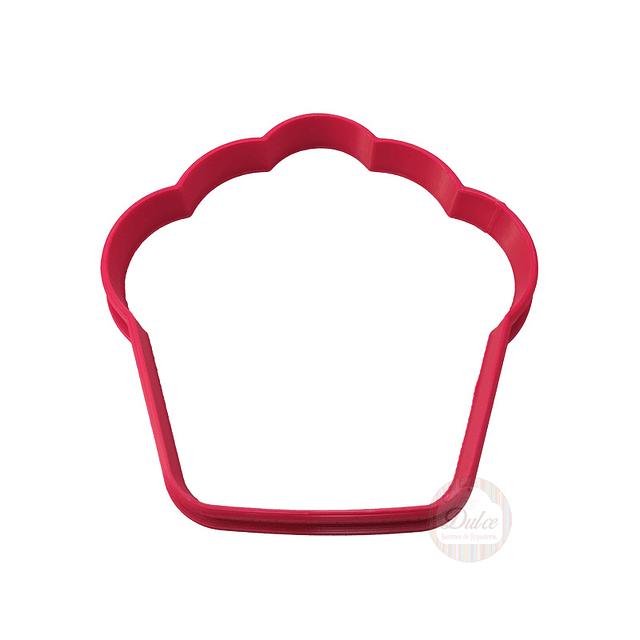 Cortador Plástico Cupcake