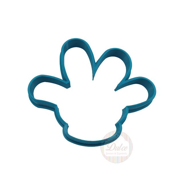 Cortador Plástico Mano Mickey