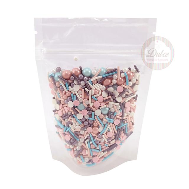Decoración Premium Confetti Pastel 70 gr.