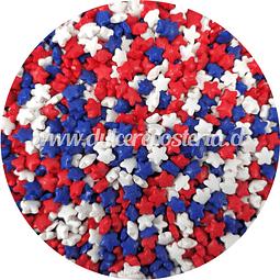 Decoración Estrellas Tricolor 100 gr.