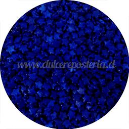 Decoración Estrellas Azules 100 gr.