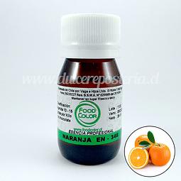 Esencia de Naranja Food Color 25 gr.