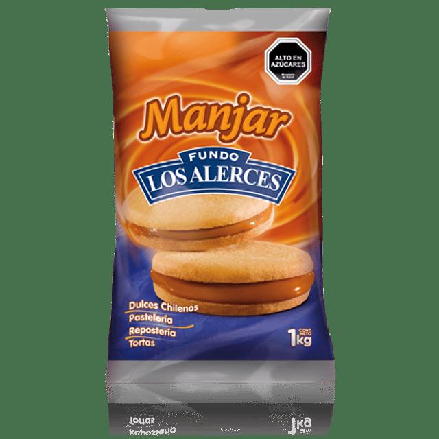 Manjar Los Alerces 1 kg.