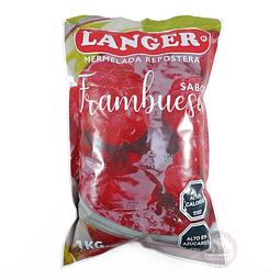 Mermelada Frambuesa Langer 1 kg.