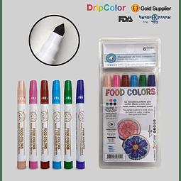 Set 6 Marcadores Classic Set 2 Drip Color